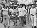 Enterro dos deputados federais gaúchos, em 2 de maio de 1984, que votaram contra a emenda Danta de Oliveira