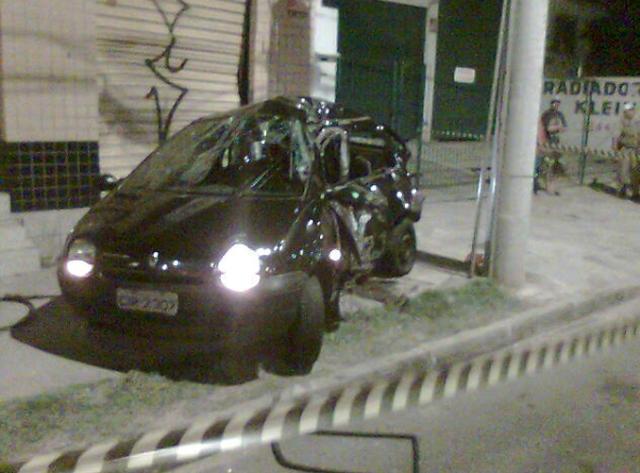 Jovem morre em acidente na zona norte da Capital Rodrigo Saccone /
