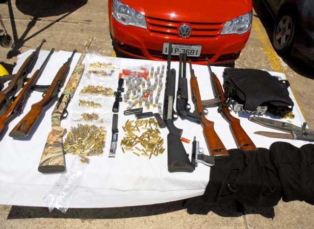 Traficante preso em Cachoeirinha também negociava armas pesadas Eduardo Lima /