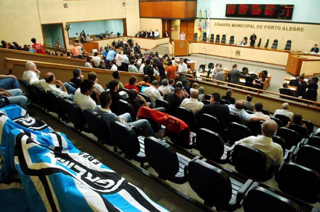 Projeto da Arena do Grêmio é aprovado pelos vereadores Diego Vara /