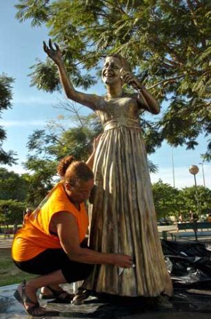 Pelas Ruas: estátua de Elis Regina terá monitoramento por câmera Ronaldo Bernardi /