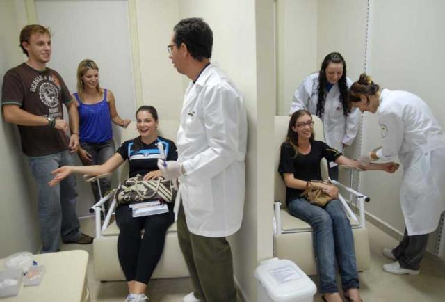 Trote solidário incentiva doação de medula óssea em Passo Fundo Jean Pimentel, especial/