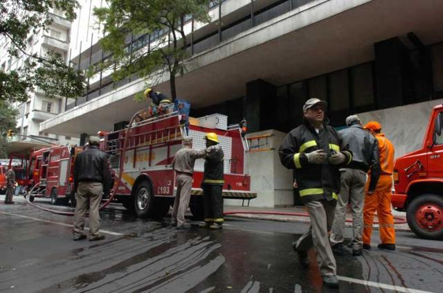 Incêndio provoca pane de internet e telefone na Capital Ronaldo Bernardi  /