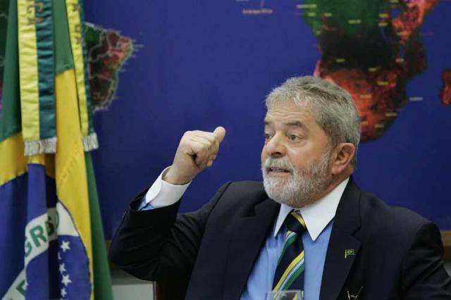 """""""O momento histórico me deu essa projeção"""", diz Lula Ricardo Stuckert, Divulgação/"""