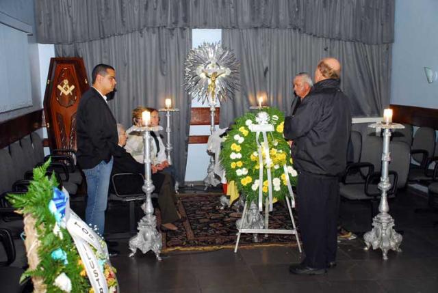 Escultor Érico Gobbi é homenageado em Rio Grande Gerson Pantaleão /