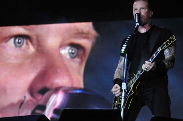 Passagem do Metallica pela Capital encerra com Seek and Destroy  Tadeu Vilani/