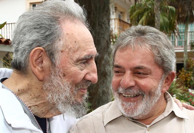 Lula encontra Fidel em visita a Cuba Ricardo Stuckert, Divulgação / Presidência/