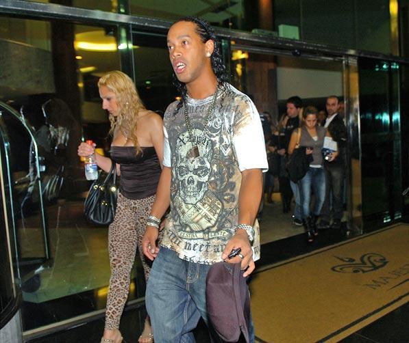 Ronaldinho Gaúcho curte férias em Florianópolis Ricardo Duarte/