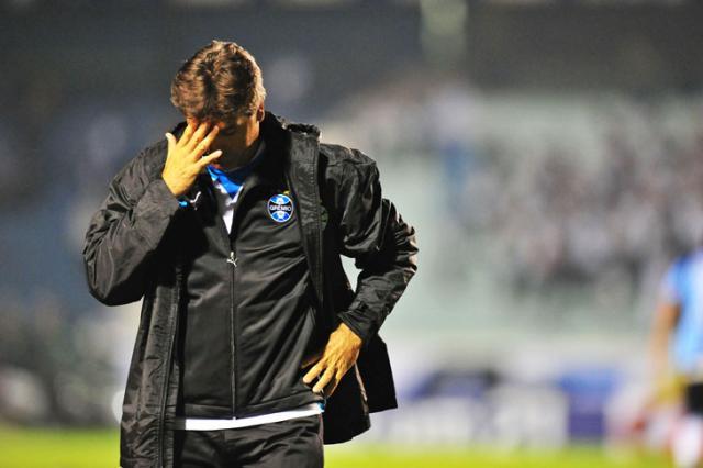 """Renato: """"Temos problemas e não são poucos"""" Jefferson Botega/"""