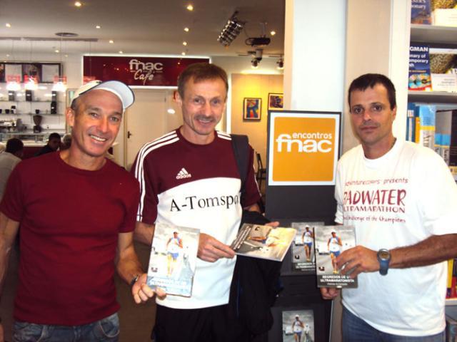 Ultramaratonista lança livro sobre 20 anos de carreira Paulo Ayres, divulgação/