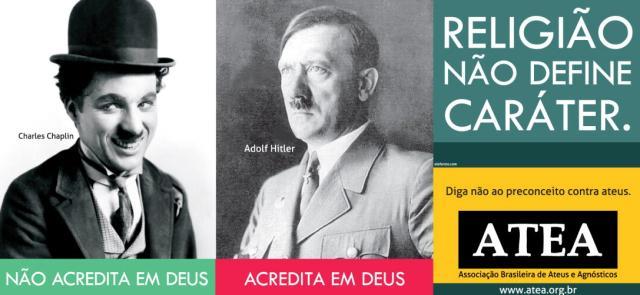 Ônibus ateus começam a circular na Capital neste domingo Divulgaçao/