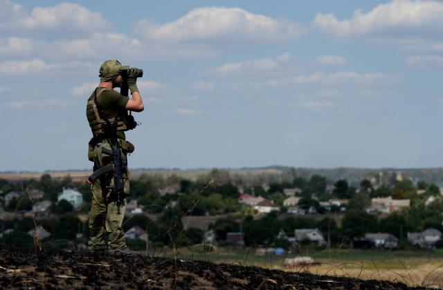 Ucrânia alerta que está no limite de uma grande guerra com a Rússia FRANCISCO LEONG/AFP