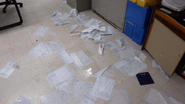 Temporal deixa processos boiando em salas do IPE Assessoria IPE/Divulgação