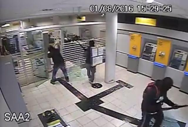 Assaltantes de banco são denunciados por tentativas de homicídio contra PMs divulgação / divulgação/divulgação