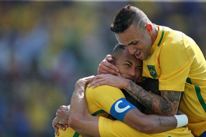 Brasil goleia Honduras e está na final do futebol masculino na ... e19d8e9697825