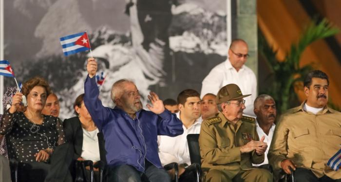 Image result for lula y los cubanos