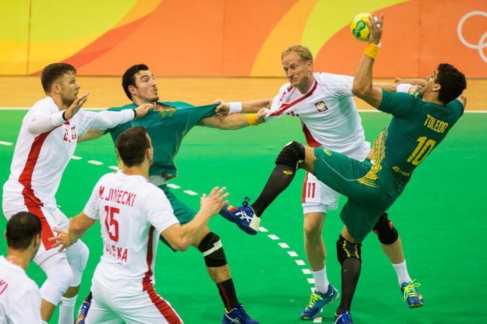 3072ed23861e2 Anderson Fetter   Agencia RBS. A Seleção masculina de handebol parte para o segundo  desafio do Mundial da França ...