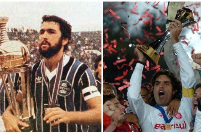 Títulos de Grêmio e Inter têm peso diferente na avaliação da FifaMontagem  sobre fotos   Agência RBS fdf8af8dbfd5d