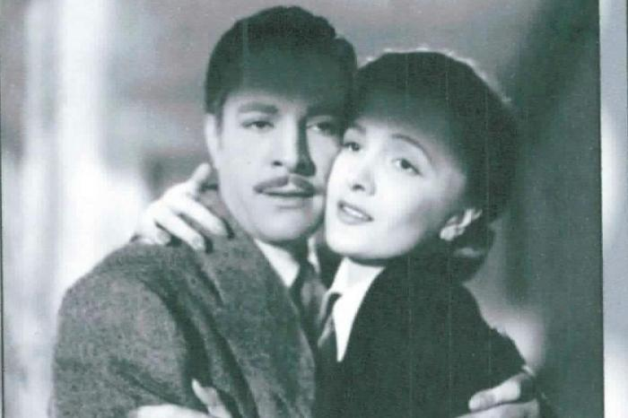 Francisco de Paula e Silvana Roth no melodrama de 1947Banco de Dados    Banco de Dados e666222941