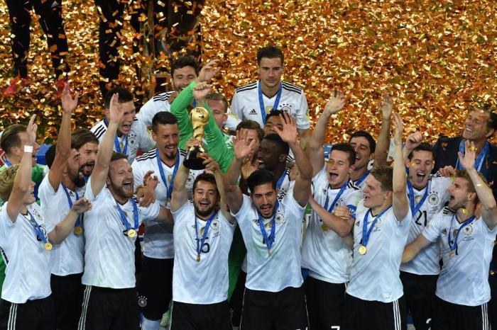 4662f3756fd41 Alemanha vence o Chile e é campeã da Copa das Confederações