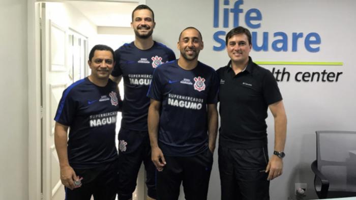Equipe de vôlei Corinthians Guarulhos realiza avaliações físicas ... 1f6036b9c381f