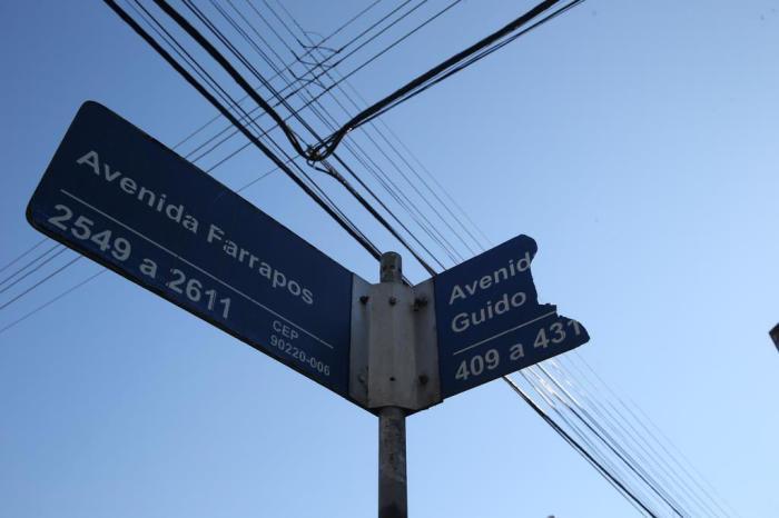 906cc077604 Há também uma parcela de placas danificada ou escondidaFernando Gomes    Agencia RBS